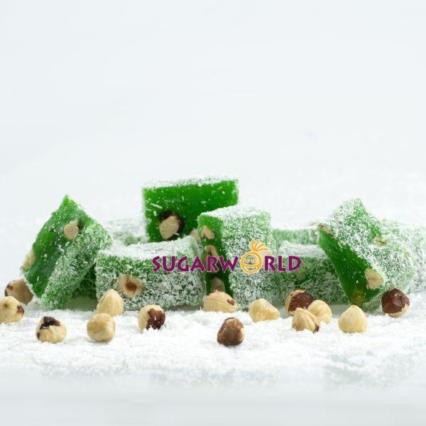 Kivi Aromalı Fındıklı Lokum