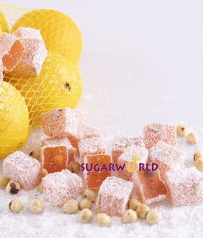 Portakal Aromalı Fındıklı Lokum