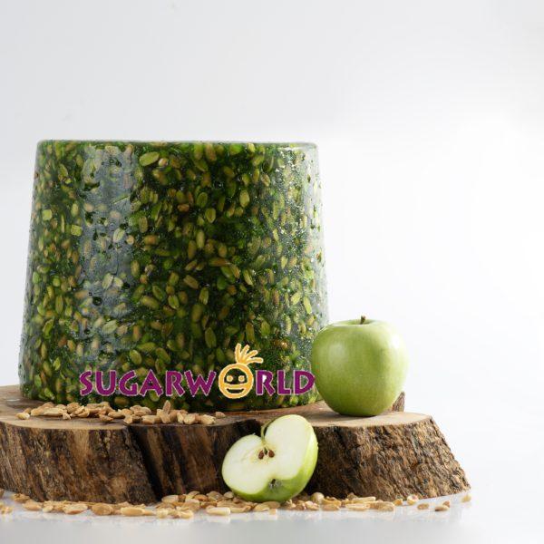 Döner Kova Yeşil Elma Aromalı Yer Fıstıklı Lokum