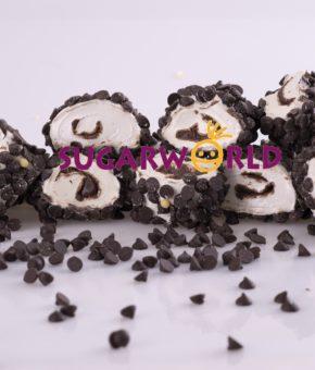 Sarma Sultan Çikolatalı Dışı Damla Çikolata Kaplı Lokum