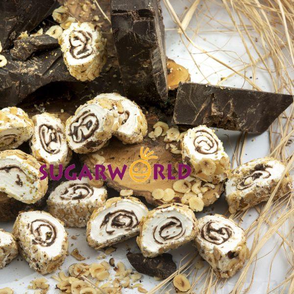 Sarma Sultan Çikolatalı Dışı File Fındık Kaplı Lokum