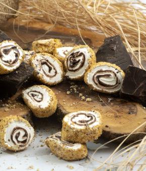 Sarma Sultan Çikolatalı Dışı Toz Fındık Kaplı Lokum