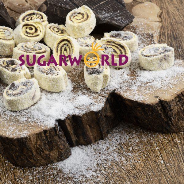 Sarma Sultan Muz Aromalı içi Çikolatalı Lokum 1
